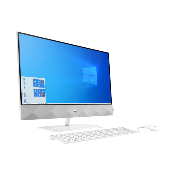 HP Pavilion All-in-One 27-d0000ng -seitlich-links