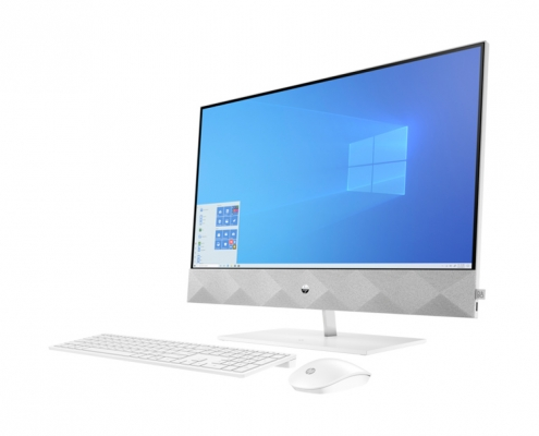 HP Pavilion All-in-One 27-d0000ng -seitlich-rechts