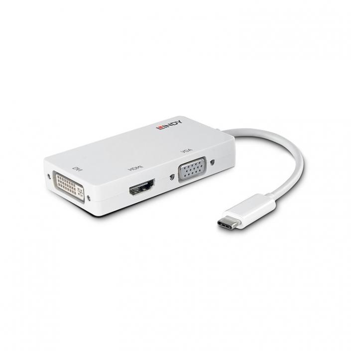 Lindy USB 3.1 Triple Display Konverter