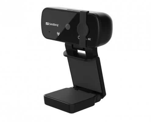 Sandberg USB Webcam Pro 4K -seitlich-rechts