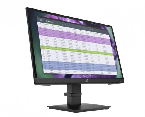 HP P22 G4 Monitor schwarz -seitlich-links