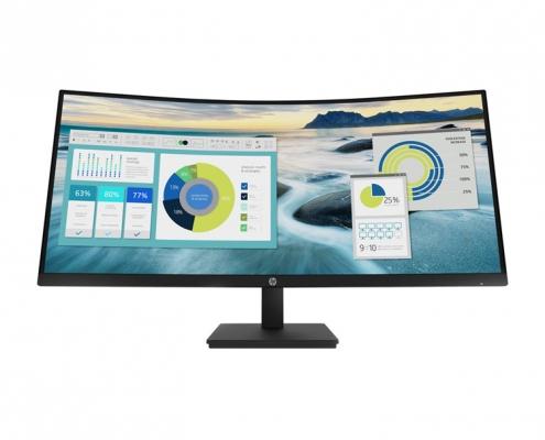 HP P34hc G4 WQHD Curved-Monitor