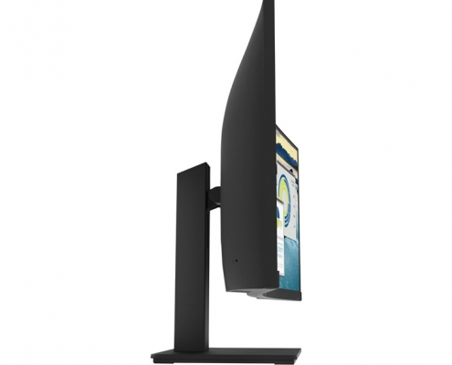 HP P34hc G4 WQHD Curved-Monitor -Seite-links