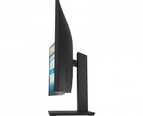 HP P34hc G4 WQHD Curved-Monitor -Seite-rechts