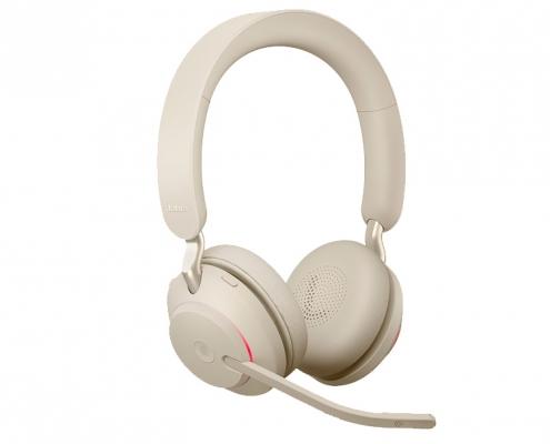 Jabra Evolve2 65 MS Stereo beige
