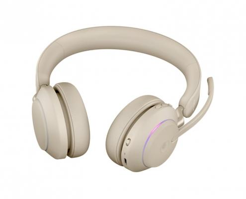 Jabra Evolve2 65 MS Stereo beige -unten