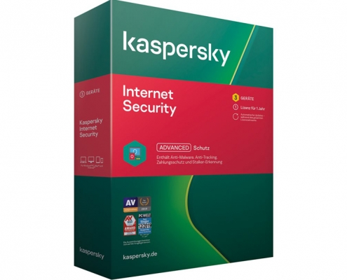Kaspersky Internet Security 3User 1Jahr