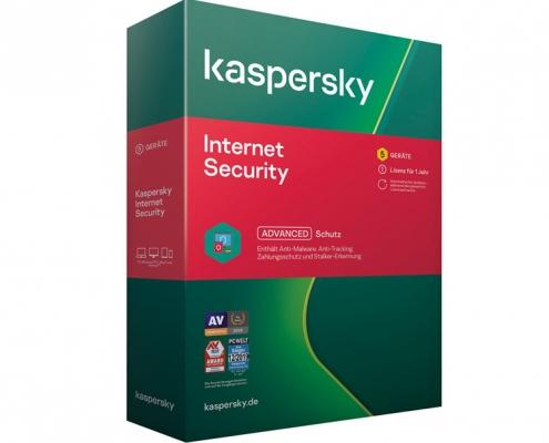 Kaspersky Internet Security 5User 1Jahr