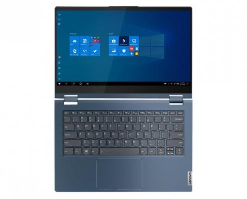 Lenovo ThinkBook 14s Yoga Abyss Blue -flach