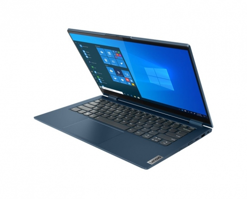 Lenovo ThinkBook 14s Yoga Abyss Blue -seitlich-rechts