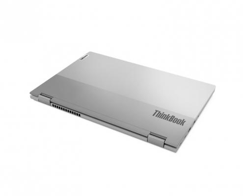 Lenovo ThinkBook 14s Yoga Mineral Grey -hinten