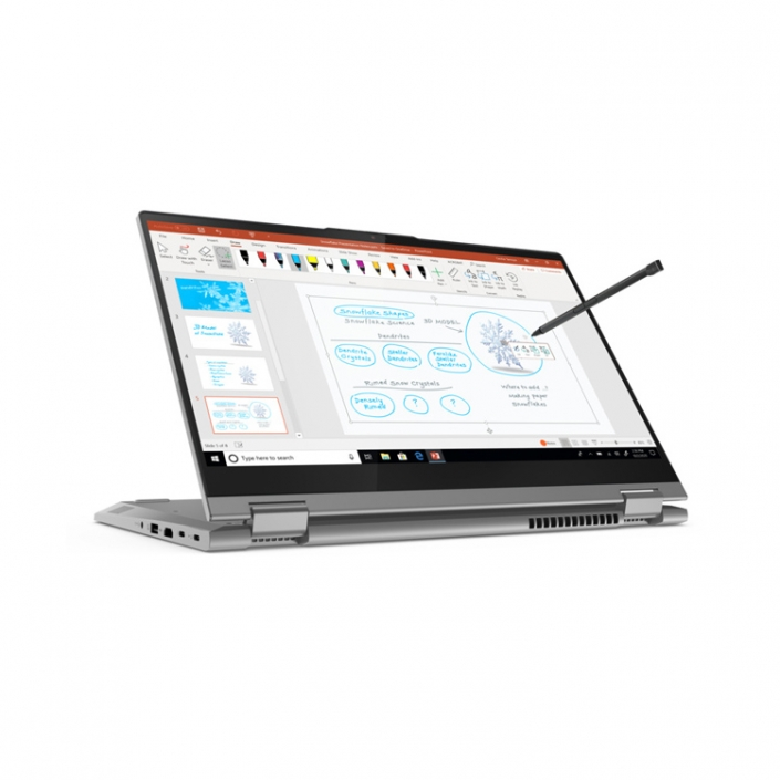 Lenovo ThinkBook 14s Yoga Mineral Grey -mit-Stift