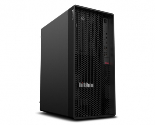 Lenovo ThinkStation P340 Tower -seitlich-links