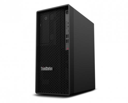 Lenovo ThinkStation P340 Tower -seitlich-rechts