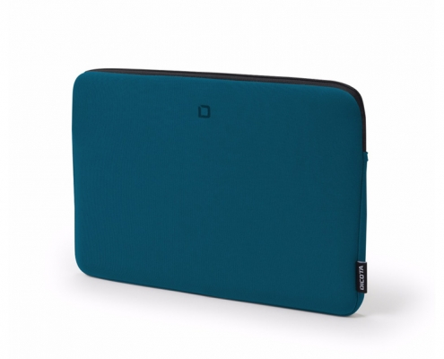 Dicota Skin BASE Sleeve 13-14 blau -seitlich-rechts