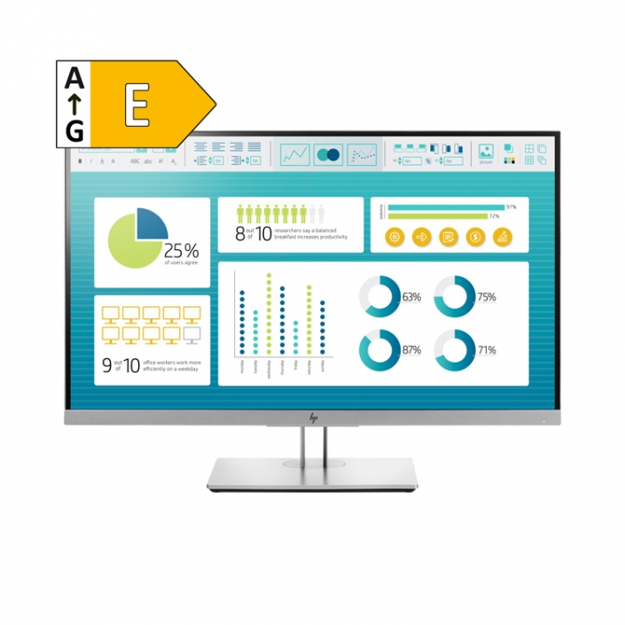 HP E273 Energieeffizienzklasse E
