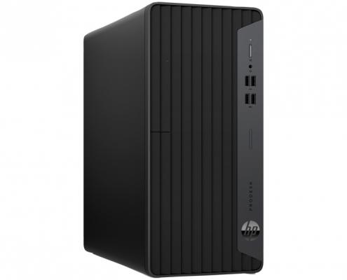 HP ProDesk 400 G7 MT, PC schwarz -seitlich links