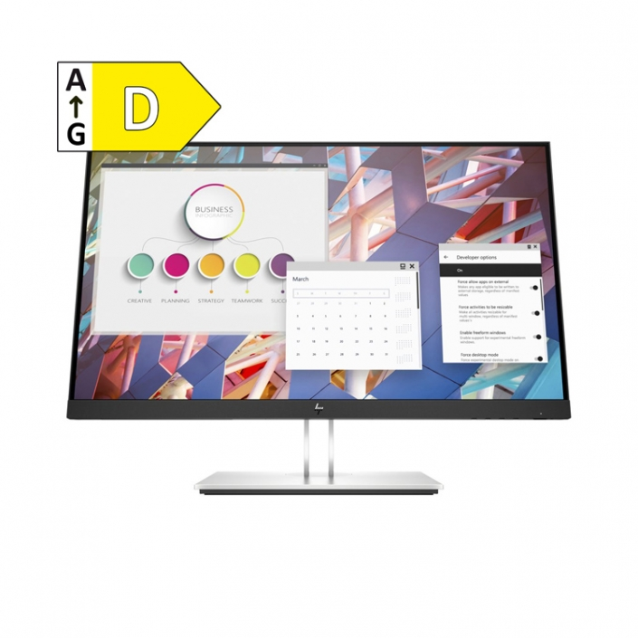 HP E24 G4 FHD-Monitor - Energieeffizienzklasse D