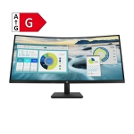 HP P34hc G4 WQHD Curved-Monitor - Energieeffizienzklasse G