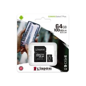 Kingston Canvas Select Plus microSDXC 64GB Kit -Boxshot