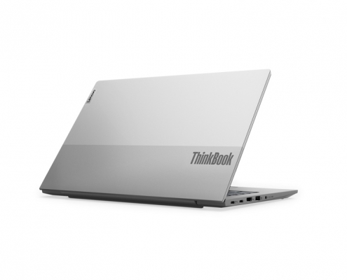 Lenovo ThinkBook 14 G2 Mineral Grey -seitlich hinten
