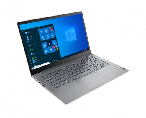 Lenovo ThinkBook 14 G2 Mineral Grey -seitlich links