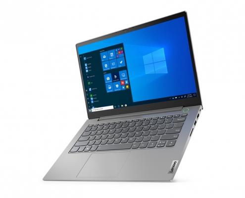 Lenovo ThinkBook 14 G2 Mineral Grey -seitlich rechts