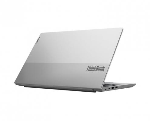 Lenovo ThinkBook 15 G2 Mineral Grey -seitlich hinten