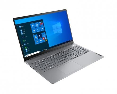 Lenovo ThinkBook 15 G2 Mineral Grey -seitlich links