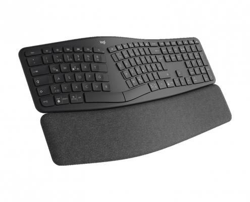 Logitech Ergo K860 Tastatur ergonomisch -seitlich links