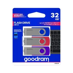 goodram USB Stick 32GB 3er Pack UTS3-3P