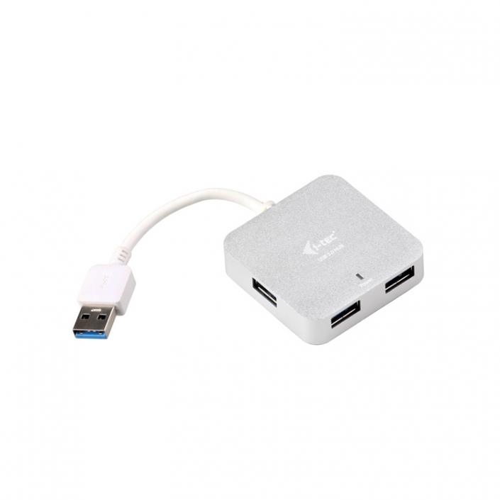 i-tec USB 4-port Metal Hub