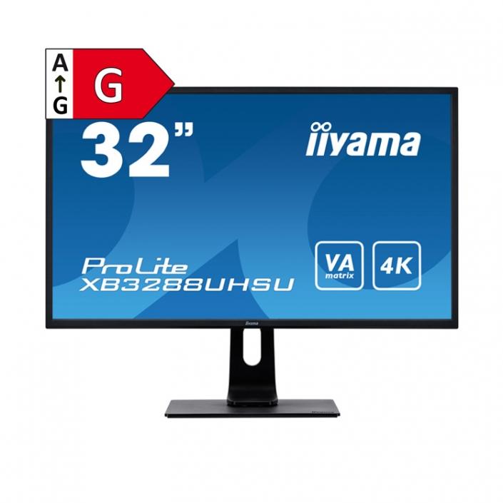 iiyama ProLite XB3288UHSU-B1-Energieeffizienzklasse G