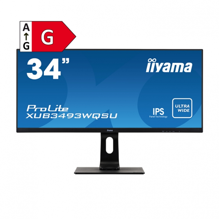 iiyama ProLite XUB3493WQSU-B1-Energieeffizienzklasse G