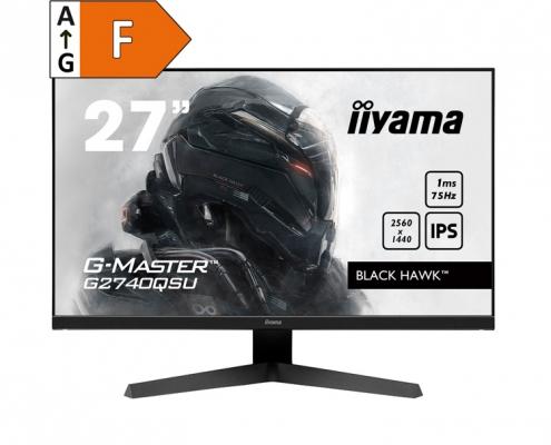 iiyama G-Master G2740QSU-B1 - Energieeffizienzklasse F