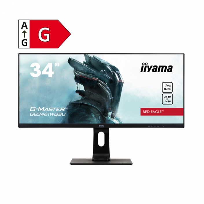 iiyama G-Master GB3461WQSU-B1 - Energieeffizienzklasse G