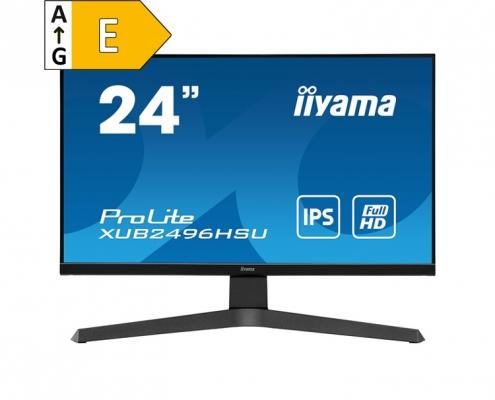 iiyama ProLite XUB2496HSU-B1 - Energieeffizienzklasse E