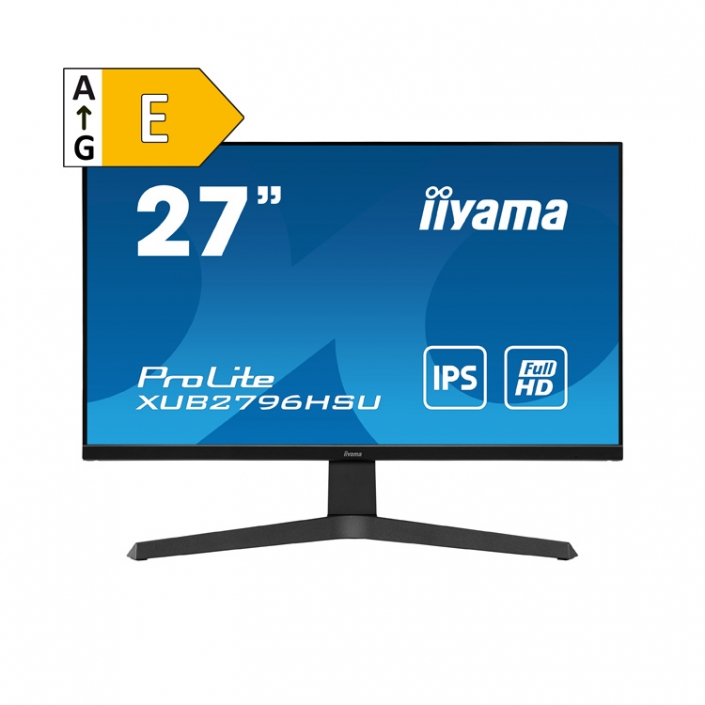 iiyama ProLite XUB2796HSU-B1 - Energieeffizienzklasse E