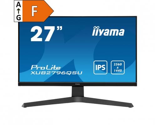 iiyama ProLite XUB2796QSU-B1 - Energieeffizienzklasse F