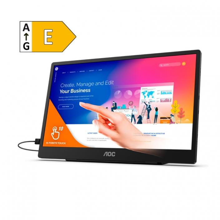 AOC 16T2 -Energieeffizienzklasse E