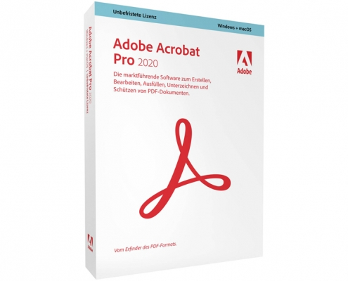 Adobe Acrobat Pro 2020 Vollversion