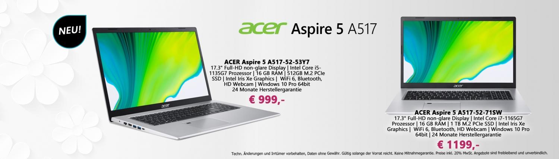 Banner Acer Aspire 5