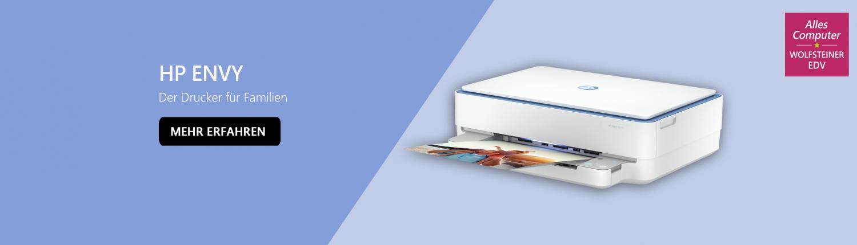 Banner HP ENVY Drucker