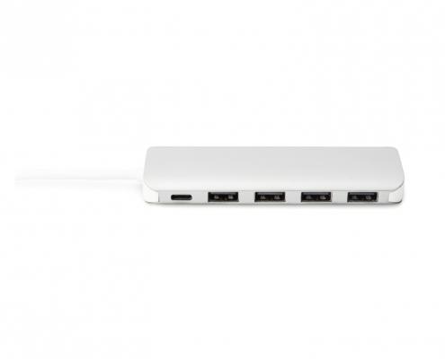 Digitus USB Type-C 4-Port Hub DA-70242-1 -vorne