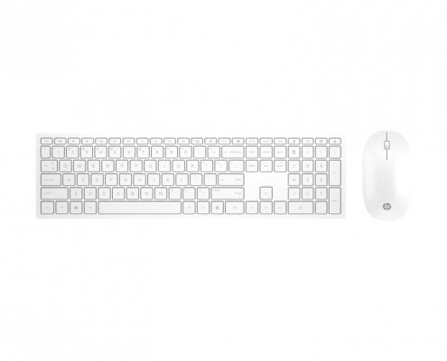 HP Pavilion Wireless Keyboard Mouse 800 weiß