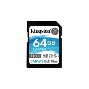 Kingston Canvas Go Plus SDXC 64GB