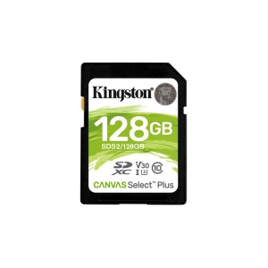Kingston Canvas Select Plus SDXC 128GB