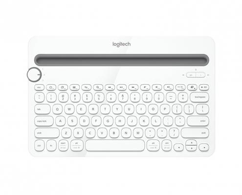 Logitech K480 weiss