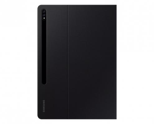 Samsung Book Cover EF-BT970 S7plus schwarz -hinten