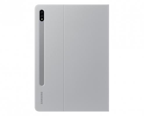 Samsung EF-BT870 Book Cover S7 Mystic Silver -hinten